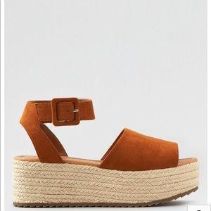 Platform Wedge Espadrille Sandal